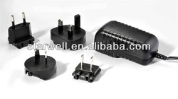 5V 1A universal ac/dc adapter with UL ,CE,FCC,GS certificate