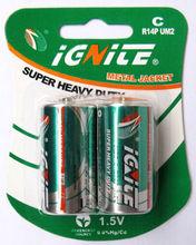 C size R14P battery Super heavy duty