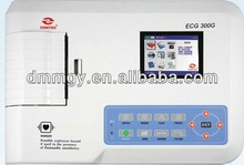 2014 excellent Cheapest digital three channel ECG 300G 3 channel