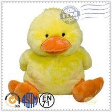 2014 Hot New Design Plush Toys China Manufacturer Toys big yellow duck plush toy