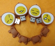 Wholesale Freesample Highspeed egg shape usb flash drive for Promotional gifts
