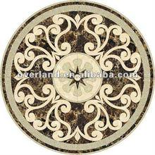 de cerámica azulejo piso medallones vps907