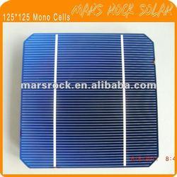 17.2%-18.6% High Efficiency A Class Monocrystalline Solar Cells 125x125