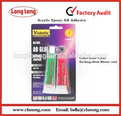 Acrylic Epoxy Quick Set AB Glue 40ml