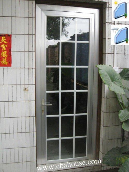 French Door Single Door Design Aluminium Double Glass Door Grill ...