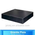 granito negro de la superficie de la placa