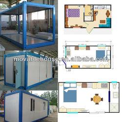 QSH flexible layout house using sandwich panel
