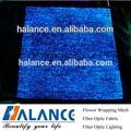 glitter tessuto in fibra ottica per luminoso runner