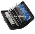 Aluminium protégées rfid carte portefeuilles. cx003/usine directement la vente de carte de crédit manches