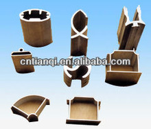 High quality factory outlets customized design aluminum extrusion profile