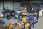 Fully Automatic Block Production Line/hollow block machine/cement block machine/Best quality brick machine manufacturer