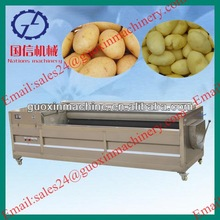 Top selling on Alibaba industrial potato peeling machine/potato peeling and cutting machine