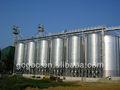 Trigo de grãos de milho silo bins