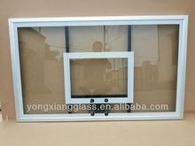 Transparent fiberglass basketball backboard