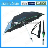 aluminum straight backpack umbrella