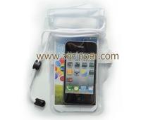 Clean PVC Mobile Phone WaterProof Bag