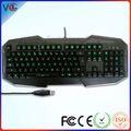 Vmq-15 multimídia usb teclado mecânico de jogos a partir de shenzhen iso aprovação de fábrica