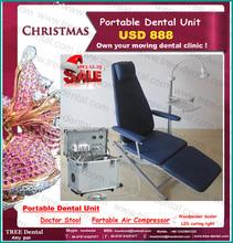 USD888,Own your moving dental clint! Portable Chair+Mobile dental unit foshan cheap nursing chairs instrumental dental