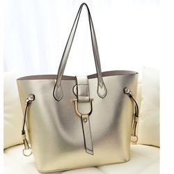China Manufactuer 2014 lastest 2in1 pu leather ladies handbag