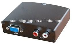 HDMI to VGA and RCA Analog Audio Converter