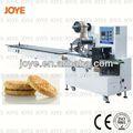 Snacks/biscuit/panqueca/doces travesseiro tipo de embalagem do biscoito máquina jy-300