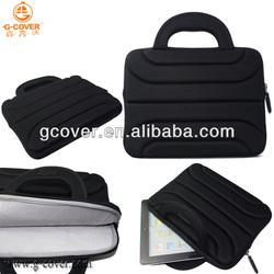2014 hot selling tablet laptop neoprene sleeve handle case