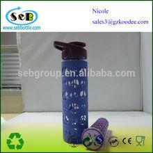 480ml&550ml&600ml&700ml kids water bottle with straw/borosilicate glass water bottle