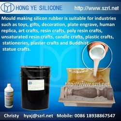 RTV silicone rubber for mold making