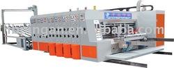 corrugated printing, sloting & rotary die-cutting machine