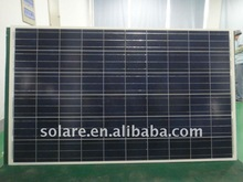 High quality Poly solar panel 205Wp for CE/TUV certificate