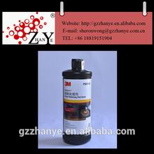 silicone car wax, 3M foam polishing pad glaze