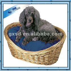 Cheap Hot Home Handmade Natural Wicker Dog Kennel