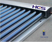 Heat pipe vacuum solar collector with made in china