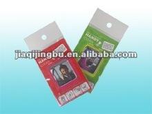 adhesive microfiber mobile phone screen cleaner