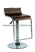 Swivel Modern Wood Bar Stool HG1301