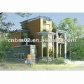 maisons préfabriquées à faible coût de conception de maison villa maison modulaire préfabriquée villa de luxe à des prix de ventes