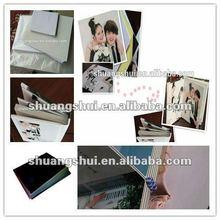 High quality photo book making pvc album sheet
