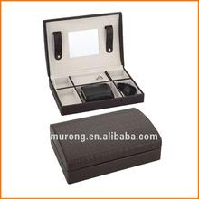 Leather jewelry box Storage case