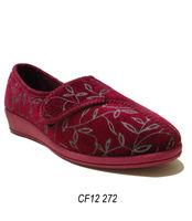 Fashion ladies velvet loafer shoe