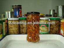 Canned Nameko Mushroom in glass jars