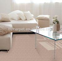 wool carpet for hotel tufted loop pile office carpet machine woven broadloom carpet