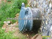 FRP flap check valve