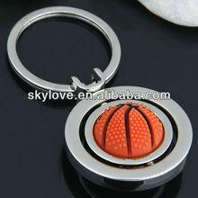 promotional basketball metal keychain keychain basketball
