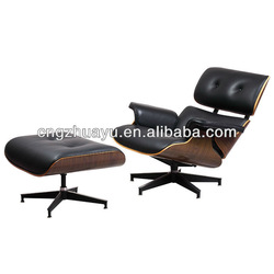 Eames lounge chair,Genuine leather Charles Eames lounge chair