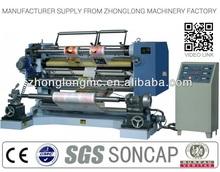Plastic film, label slitting machine