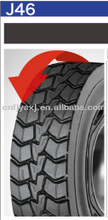 pattern XDY apply to various road conditions 11R22.5 truck tire retreading material