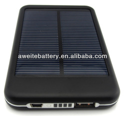 Digital smartphone solar charger 5000mAh ,high qulity solar charger with CE.ROHS.FCC