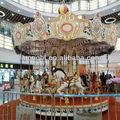 parque de diversões carrossel de fibra de vidro brinquedos fisher price