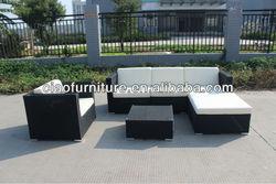 2013 best selling PE wicker sofa CF890