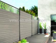 Waterproof Garden WPC Fance/fance wpc/wpc fance garden